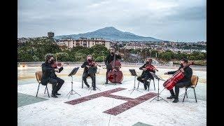 'Cavalleria Rusticana', suonato sul tetto del Pronto Soccorso del Policlinico di Catania